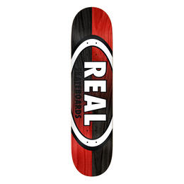 Real Double Dipped Oval 8.38 Skateboard Deck