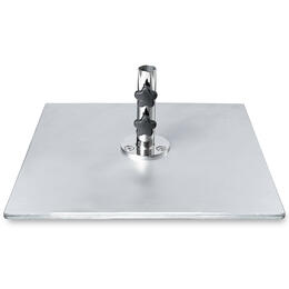 Frankford 60 lb. Galvanized Square Steel Plate Base