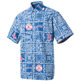 Reyn Spooner Men's Boston Red Sox Lahaina II Button Front Shirt
