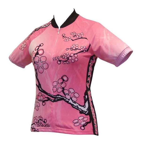World Jerseys Women's Cherry Blossom Cycling Jersey
