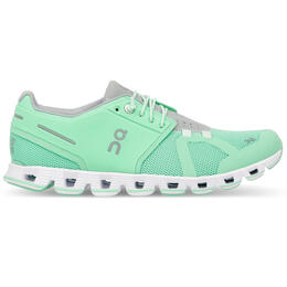 On Women's Cloud Running Shoes Mint