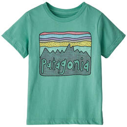 Patagonia Baby Fitz Roy Skies Organic Cotton T Shirt