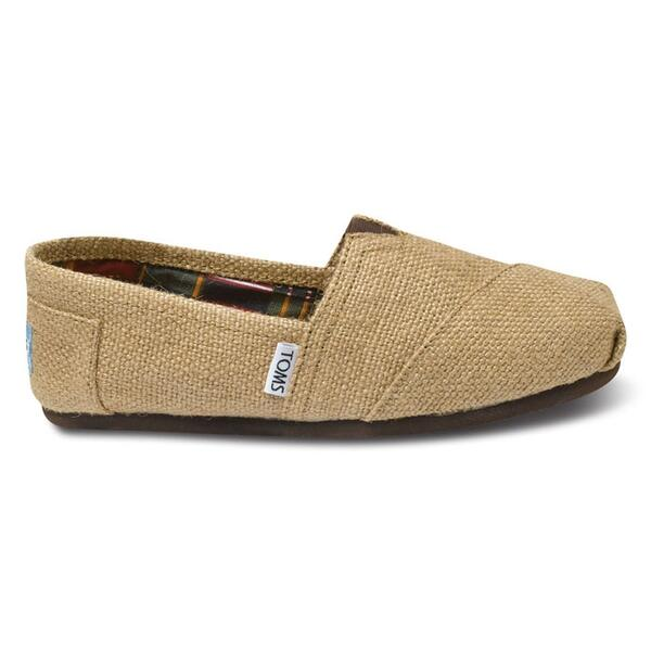 Toms Women's Burlap Classic Slip-on Casual Shoes