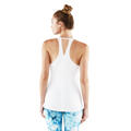 Manduka Women's Kosha Lite Tank Top White Back