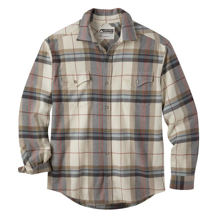 Mountain Khakis Men's Teton Long Sleeve Fla