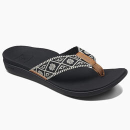 Reef Women's Ortho Bounce Woven Flip Flops