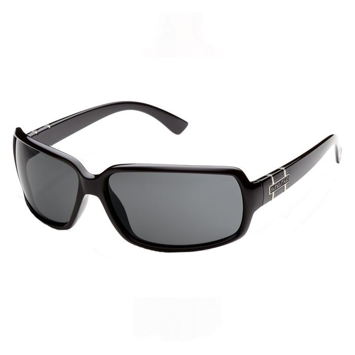 Smith Poptown Sunglasses Black and Grey Lens