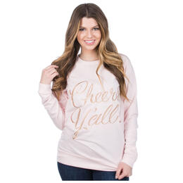 Lauren James Women's Reed Cheers Y'all Sweatshirt