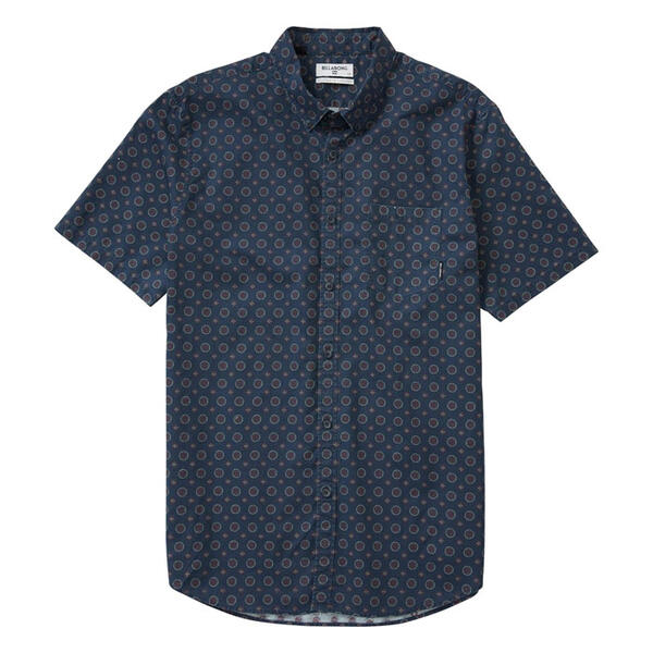 Billabong Men's Sundays Mini Button Down Sh