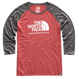 The North Face Women's Americana Tri-blend 3/4 Sleeve T Shirt