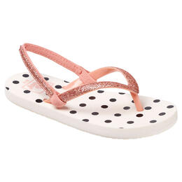 Reef Girl's Little Stargazer Prints Sandals