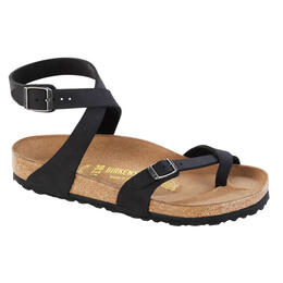 Birkenstock Women's Yara Black Birko Flor Casual Sandals