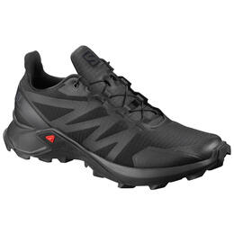 Salomon Men's SUPERCROSS Trail Running Shoes Black