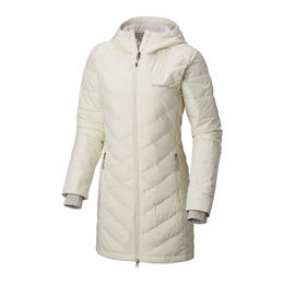 Columbia Women's Heavenly Long Hood Jacket Light Bisque