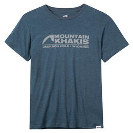 Mountain Khakis Men's Logo Short Sleeve T Shirt