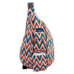 Kavu Women's Rope Bag Backpack Everglade Tile