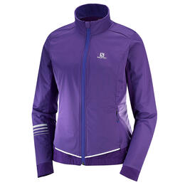 Salomon Women's Lightning Lightshell Ski Jacket, Parachute Purple