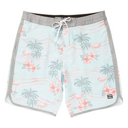 Billabong Men's 73 Lo Tides Line Up Boardshorts