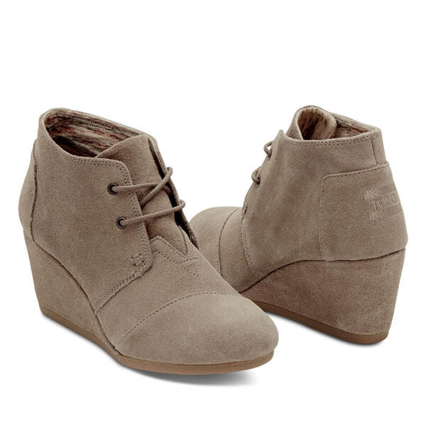 Toms Desert Wedge Casual Shoes
