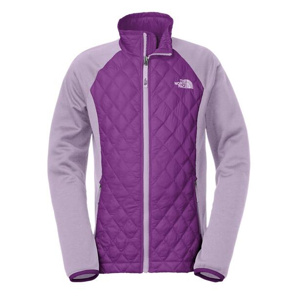 The North Face Girl's Thermoball Hybrid Jacket