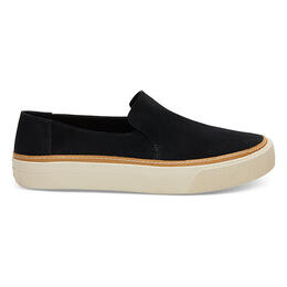 Toms Women's Sunset Casual Slip On Shoes Black