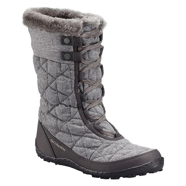 Columbia Women's Minx Mid II Omni-Heat Twill Apres Boots Right Side Grey