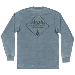 Southern Marsh Men's Seawash Tent Long Sleeve Tee Shirt
