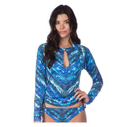 Lucky Women's High Tides Long Sleeve Rashguard