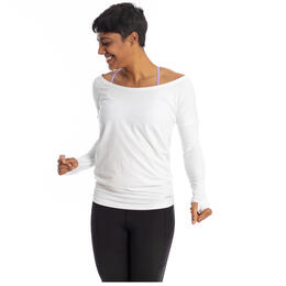 Handful Women's Peek A Breeze Long Sleeve Top