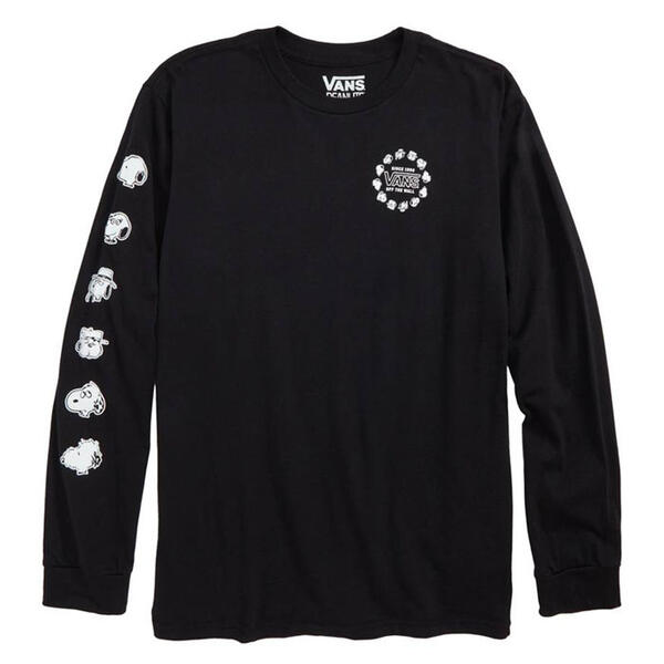 Vans Boy's Snoopy Brothers Long Sleeve T Sh