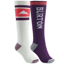 Burton Women's Weekend Midweight Socks 2-Pack