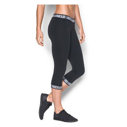 Under Armour Women's Favorite Word Mark Capris