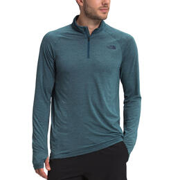 The North Face Men's Heather Wander Quarter Zip Top