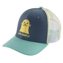 Patagonia Girl's Live Simply Seal Trucker Hat