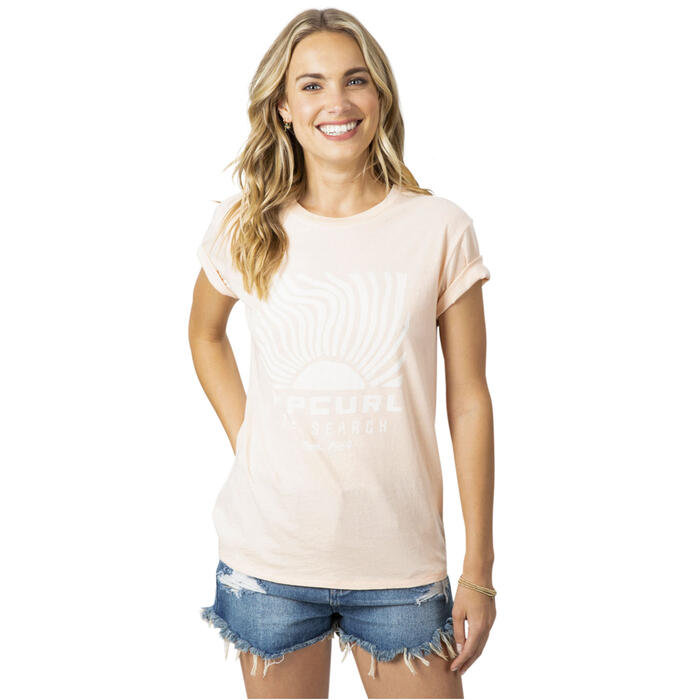 Rip Curl Women's Sun Search Boy T Shirt
