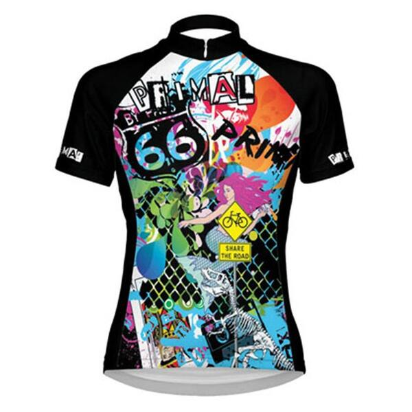 Primal Wear Women's Tagged Cycling Jersey
