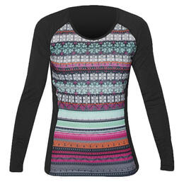 Hot Chillys Women's Mtf4000 Print Scoopneck Baselayer Top