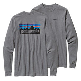 Patagonia Men's P-6 Logo Long Sleeve Tee Sh