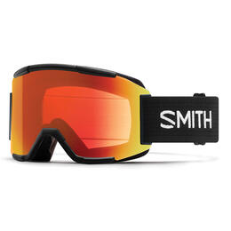 Smith Squad Snow Goggles W/ Chromapop Red Mirror Lens (Asian Fit)