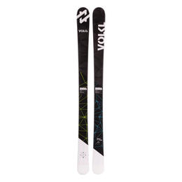 Volkl Boy's Wall Jr All Mountain Skis with 3Motion 7.0 Bindings '17