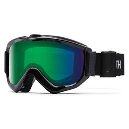 Smith Knowledge Turbo Fan Snow Goggles W/ Chromapop Green Mirror Lens