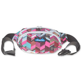KAVU Women's Spectator Sunset Blocks Waist Pack