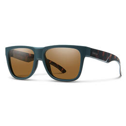 Smith Men's Lowdown 2 Lifestyle Sunglasses Matte Forest Tortoise
