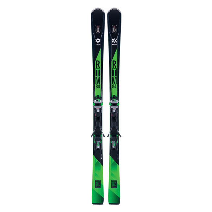 Volkl Men's RTM 84 Frontside Skis with Wide