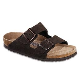 Birkenstock Women's Arizona Soft Footbed Suede Casual Sandals