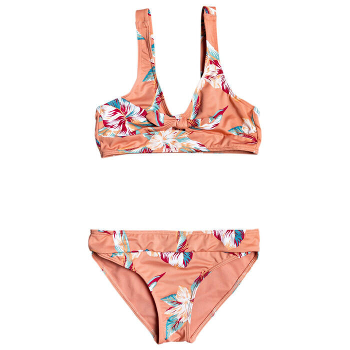 Roxy Girl's Made For Roxy Athletic Bikini S