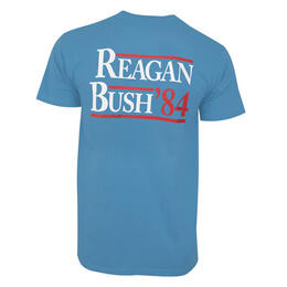 Rowdy Gentleman Men's Reagan Bush '84 Short Sleeve T Shirt