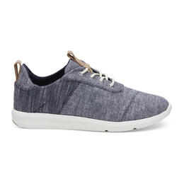 Toms Women's Cabrillo Casual Shoes Navy Chambray