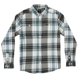 Rvca Men's Ludlow Flannel Long Sleeve Shirt