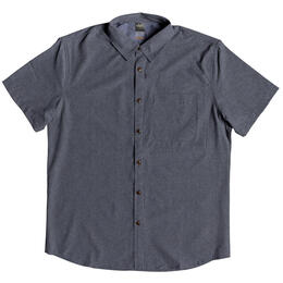 Quiksilver Men's Tech Tides Short Sleeve Shirt